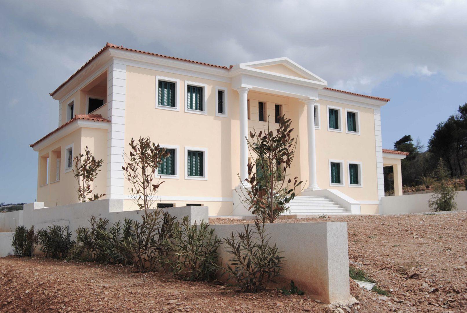 Μελέτη κατασκευή κτιρίου κατοικίας